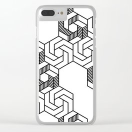 Hex 601 Clear iPhone Case