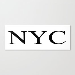 NYC - New York City Canvas Print