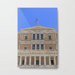 Athens XIV Metal Print