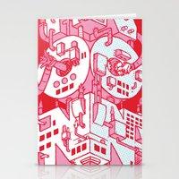 hong kong Stationery Cards featuring Hong Kong by René Barth
