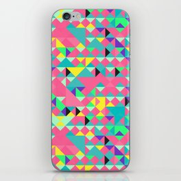 Pink Geometric iPhone Skin