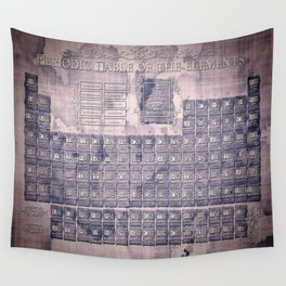 periodic table of elements Wall Tapestry