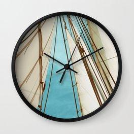 Catch The Wind Wall Clock