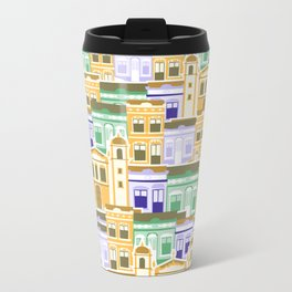 Houses of Brazilian Carnival Travel Mug