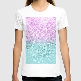 Mermaid Girls Glitter #2 #shiny #decor #art #society6 T-shirt