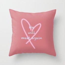 heart we Throw Pillow