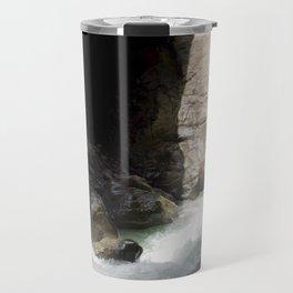 The Way Out of Box Canyon Falls Travel Mug