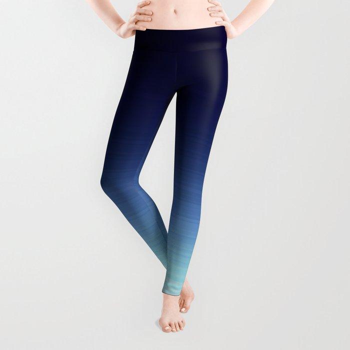 Nautical Blue Ombre Leggings