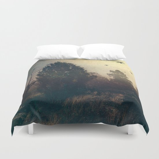 Home is where the fog is Duvet Cover