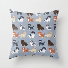 CANADIAN DOGS Throw Pillow