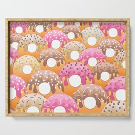 Donuts Wanderlust Serving Tray