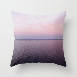 Pacific Sunset Throw Pillow