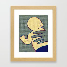 Mother / Child Framed Art Print