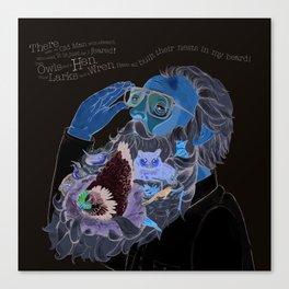 Old Man With a beard Canvas Print
