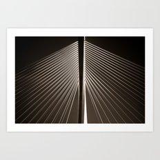 Bridge in Waterford - Detail Art Print