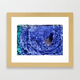 Harmony shadows Framed Art Print