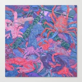 Crabs #2 Canvas Print