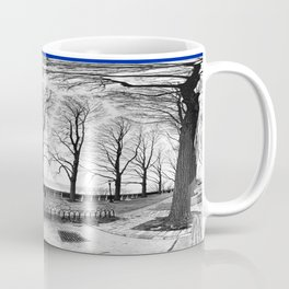 Trees Up in the Park Coffee Mug