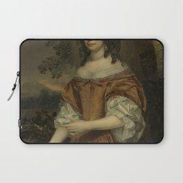 Jan Mijtens - Maria de Witte Françoisdr (b 1616) Wife of Johan van Beaumont Laptop Sleeve