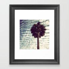 Charleston Palm Framed Art Print