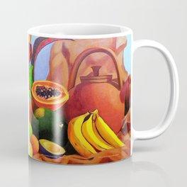When Monkey Meets Fruit BARBADOS Coffee Mug