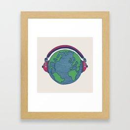 World Music Framed Art Print