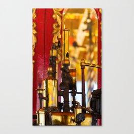 Steam Carousel Whistle Canvas Print