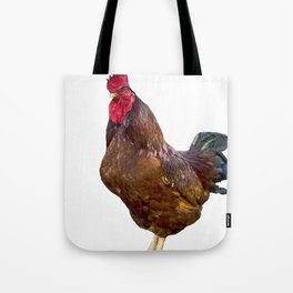 Carl the Rooster Tote Bag