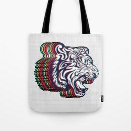 3D Tiger Tote Bag