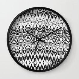 Missoni Style Mono Wall Clock