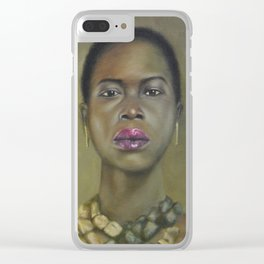 Proud Beauty Clear iPhone Case