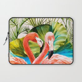 Flamingos Laptop Sleeve