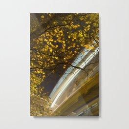 Monorail Metal Print