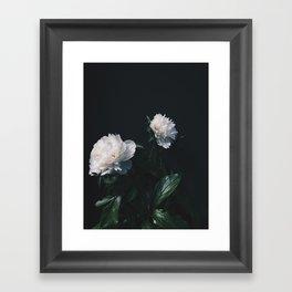 Garden Peony Framed Art Print