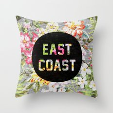 East Coast Throw Pillow