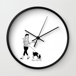 Leave In 10 minutes Wall Clock