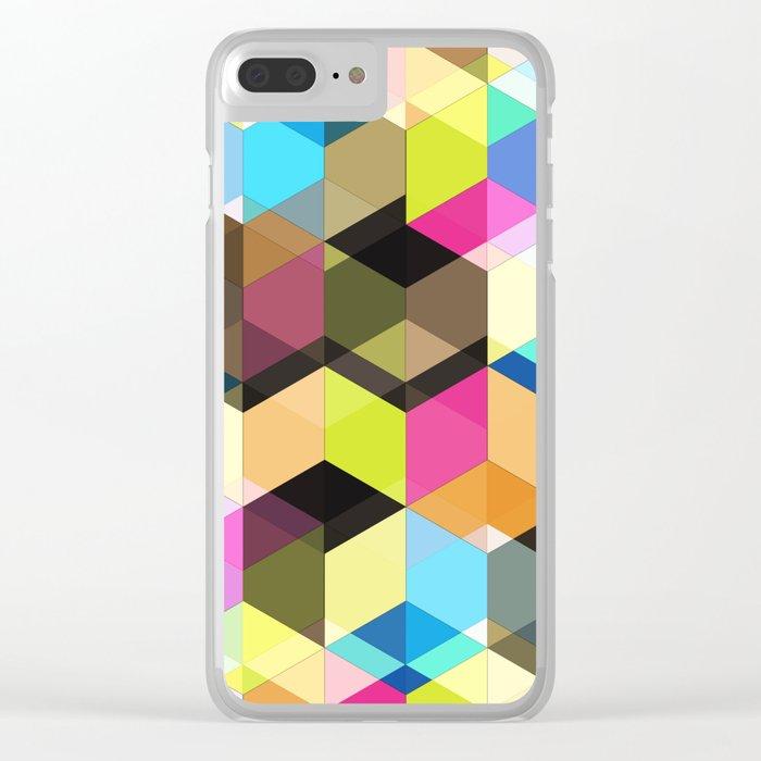 Modern 01 Clear iPhone Case