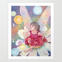 Fairy Granddaughter Art Print