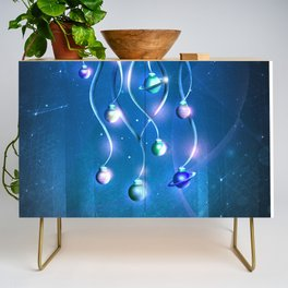 Christmas Jellyfish Credenza