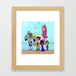 Teen Titans Go! Framed Art Print