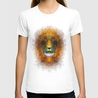 leo T-shirts featuring Leo by Pantalla 64