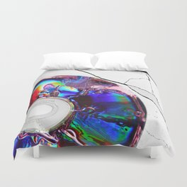 Heat Wave Duvet Cover