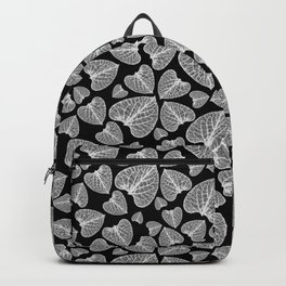 Black White Pattern Backpack