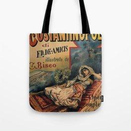 Constantinople Italian vintage book advertisement Tote Bag