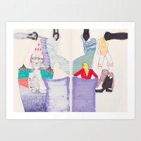 Nonsensical Play 2 Art Print