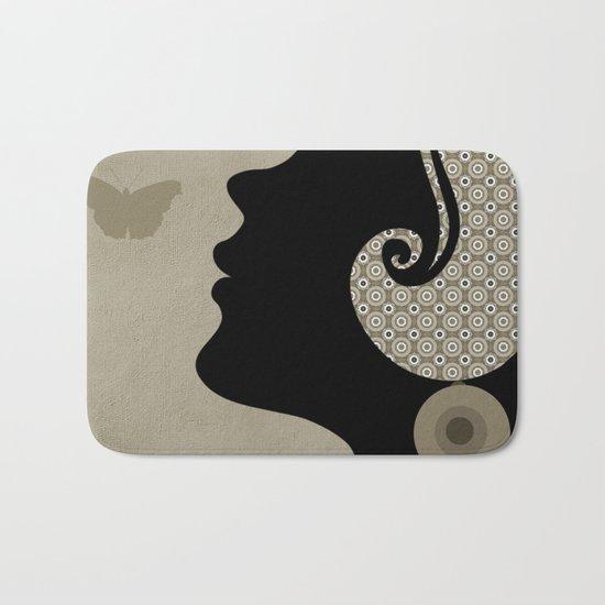 madame butterfly (II) Bath Mat