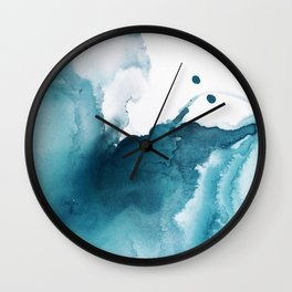 Butterfly in the Wind Wall Clock