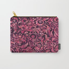 Watercolor Damask Pattern 01 Carry-All Pouch