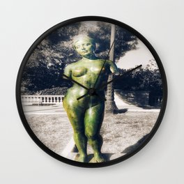 The Naked Statue Wall Clock