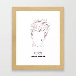 Hisoka HunterXHunter Framed Art Print